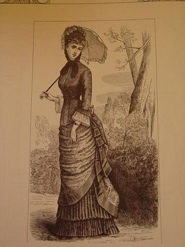 Inspiration - Harper's Bazar 1879