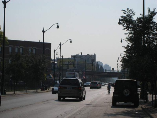 Lincoln Ave. southbound