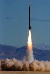 Fire (Erik Charlton) Tags: nv rocket rockets launch rocketry blackrock highpower n4500 balls16