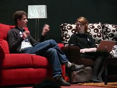 Rigo Wenning y Hannah Donovan en Fundamentos Web 2007