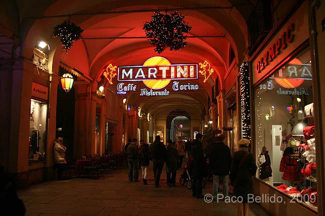 Soportales de Piazza San Carlo. © Paco Bellido, 2009