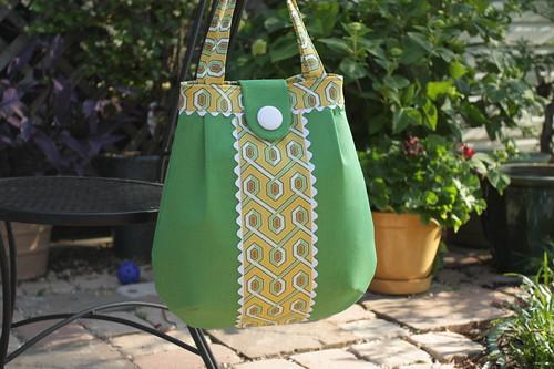 green & yellow bag