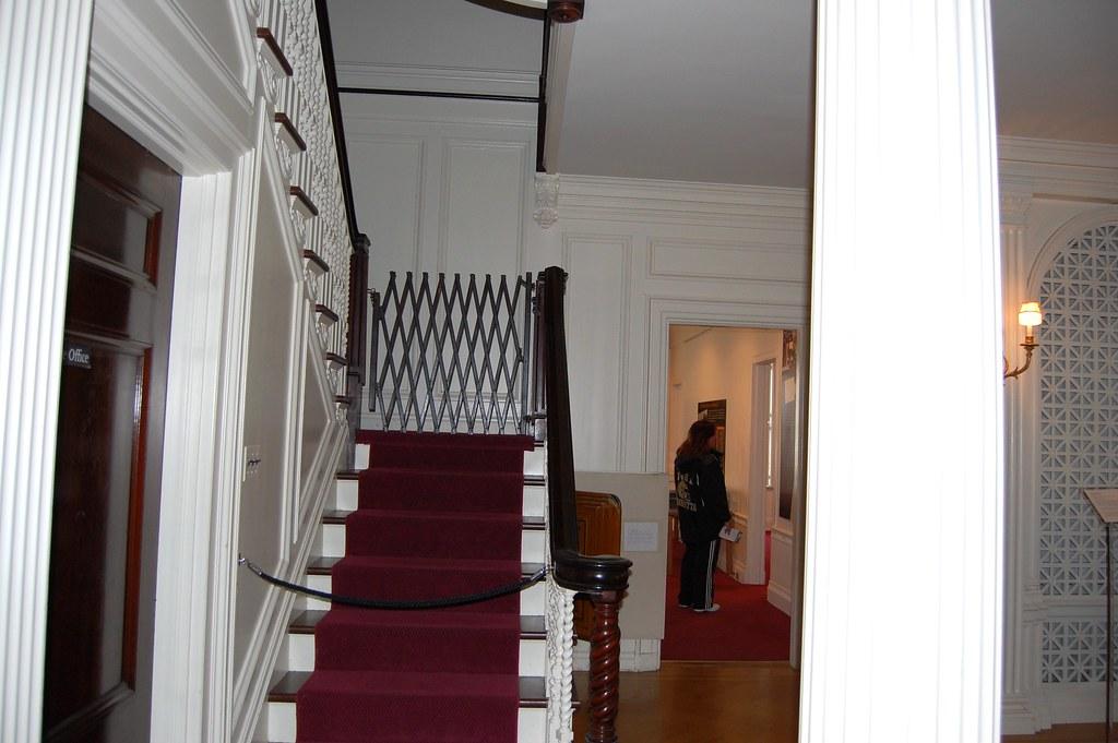 Third  Floor  Stairway  -   Eastman   House