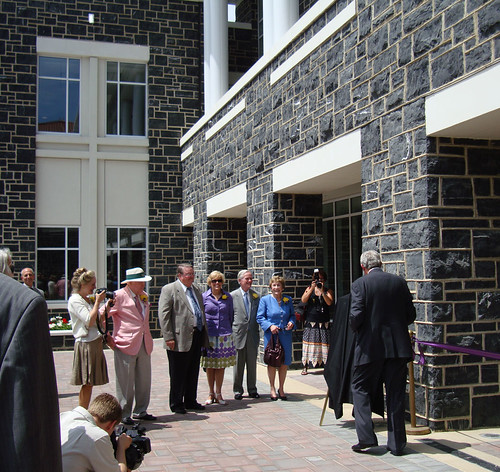 Forbes Center Dedication - Front Courtyard