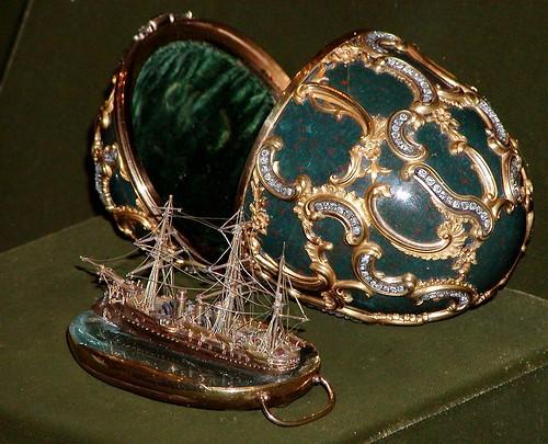 004A-Huevo recuerdo del Azov 1891- Faberge