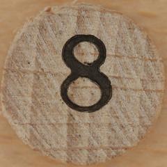 Bingo Number 8 (Leo Reynolds) Tags: canon eos iso100 8 number squaredcircle lotto 60mm f80 bingo eight loto onedigit housie housey 40d hpexif 0067sec numberset grouponedigit numberbingo houseyhousey xsquarex housiehousie sqset054 bingoset05 xleol30x