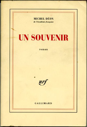 Un souvenir, by Michel Déon