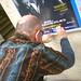 Joe in a train station