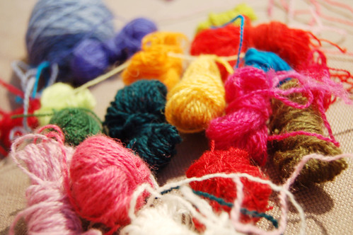 Embroidery floss (Copyright Hanna Andersson)
