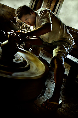 Ilocos pottery making Buhay Pinoy Philippines Filipino Pilipino  people pictures photos life Philippinen handicraft ceramic