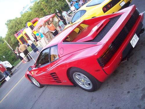 A Ferrari Testarossa!