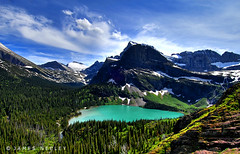 Grinnell Lake (James Neeley) Tags: mountains landscape bravo montana flickr searchthebest lakes glacier bigsky glaciernationalpark climatechange hdr globalwarming naturesfinest grinnelllake supershot magicdonkey grinnellglacier 5xp outstandingshots abigfave holidaysvacanzeurlaub goldenphotographer diamondclassphotographer flickrdiamond jamesneeley glacialdecline