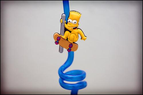twisty straw ala Bart