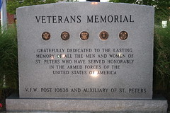 Veterans Memorial (Cindy) Tags: usa field st army coast war gulf guard navy honor korea vietnam national ii missouri marines ww airforce peters veterans vfw usarmedforces auxiliary 10838