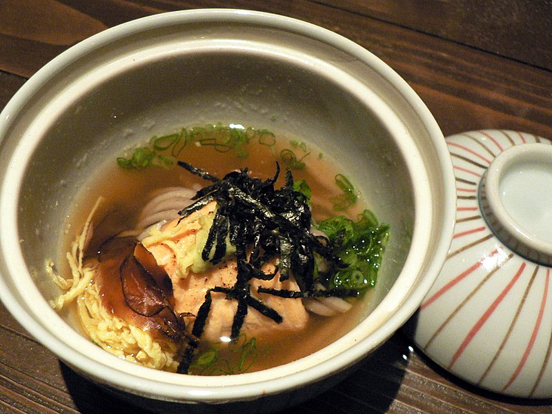 Salmon Shichu Mushi