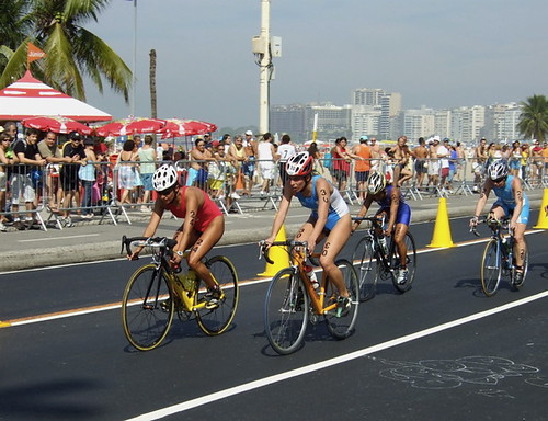 Pan Am Games: Women's Triathlon Bike Race