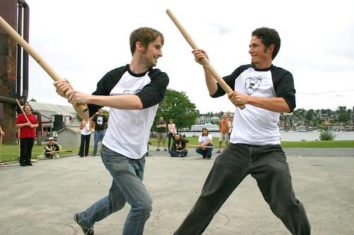 Cardboard Tube Fighting League