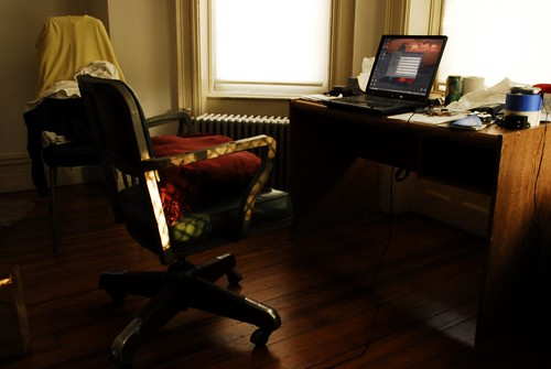 Writers Nook in 820 Early Morning Light