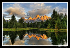 Schwabacher Morning (James Neeley) Tags: usa mountains reflection sunrise bravo quality grandtetons tetons soe hdr grandtetonnationalpark naturesfinest blueribbonwinner schwabacherlanding magicdonkey 5xp specland anawesomeshot superaplus aplusphoto flickrplatinum superbmasterpiece travelerphotos goldenphotographer jamesneeley thegoldenmermaid
