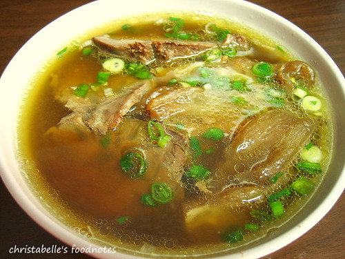 林東芳牛肉麵半筋半肉麵 Beef Noodles