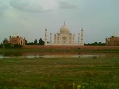 Taj Mahal - From Mehtab Bagh