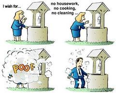 Joke (catt231) Tags: woman man joke housework