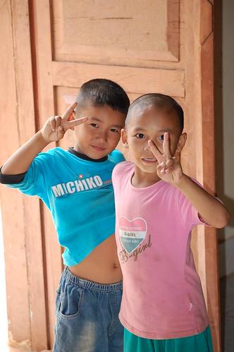 Cute Cambodian Kids