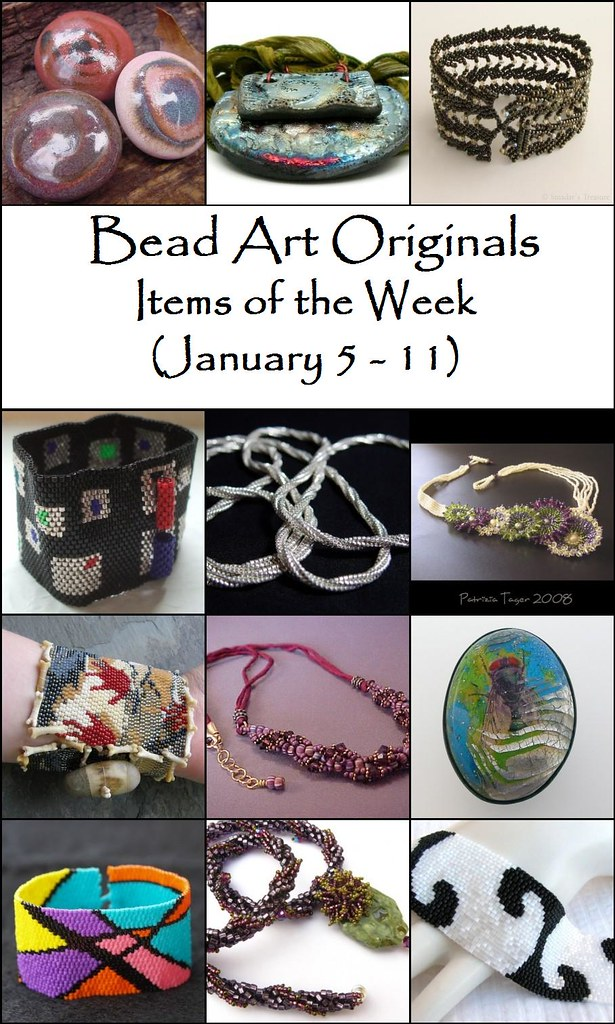 Bead Art Originals Items of the Week (1/5-1/11)