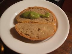 Rye bread, Magnus sauce, duck confit