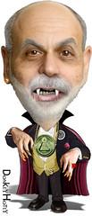 Ben Bernanke, Vampire Chairman