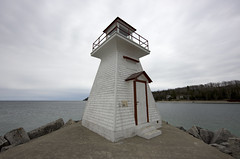 Lion's Head Lighthouse (blueheronco) Tags: lighthouse ontario canada brucepeninsula lionshead