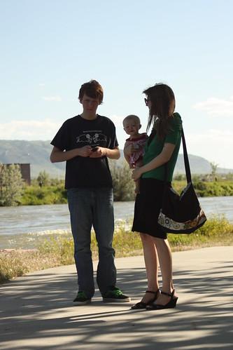 Sam, C and I