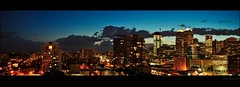Calgary at Night (Surrealplaces) Tags: canada calgary skyline downtown cityscape alberta