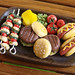 Miniature Food - Barbecue Plate D