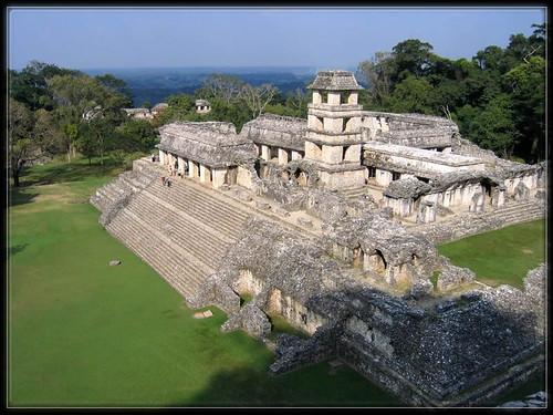 Palenque,Maya,site archeologique
