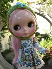 Addison in Chinese garden