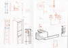 Linear clock sketchbook page1 (Euphy) Tags: clock sketchbook linear instructables