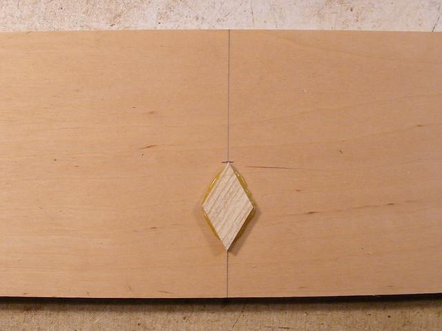 Making a Tumbling Block Cribbage Board #7