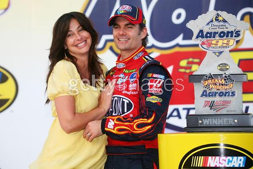 jeff gordon wife ingrid. Jeff Gordon and wife Ingrid