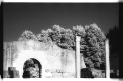 Roman Forum Infrared 4 (rjsparrow) Tags: rome infraredfilm