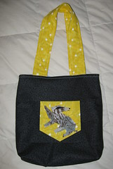 Mary's Hufflepuff Tote Bag