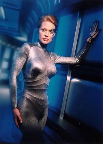 Jeri Ryan aka 7 OF 9 by Jim Bacon