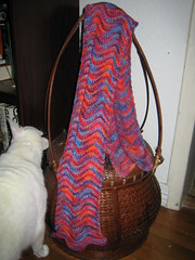 LMKG Chevron Stitch Scarf