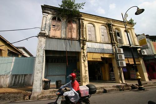 Kuala Terengganu street scene...