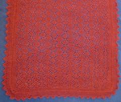 VLT shawl rust