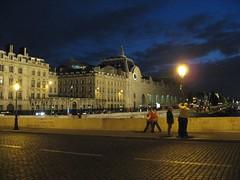 A Paris Street at Night