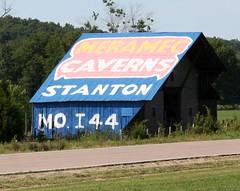 MERAMEC CAVERNS BARN (Cindy シンデイー) Tags: road trip barn tourist mo missouri caverns attraction stanton i44 meramec hwy67