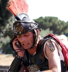Centurion from the Colisseum to Gaul (WowtheWorld) Tags: italy rome tourism be abc always handphone centurion gladiators capturing