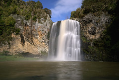 Hunua falls - NZ (Kenny Muir) Tags: new nature landscape waterfall minolta north sigma zealand lee nd 5d 1020mm range australasia hunua