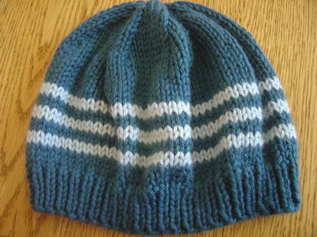 Knitting Pattern Hat Straight Needles Free : Chemo Cap (Both Flat and Circular Knitting Patterns ...